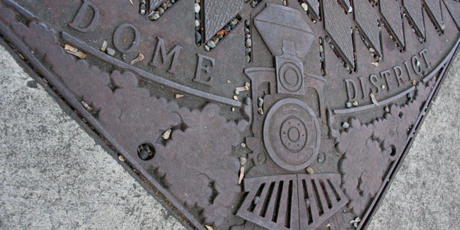 Dome District Street Grate
